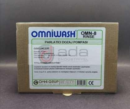 Omniwash Endüstriyel Bulaşık Makinesi Parlatıcı Dozaj Pompası
