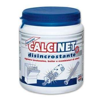 CALCINET Polvere- Profesyonel Kireç çözücü Toz Deterjan (Sıcak/Soğuk) 1000gr